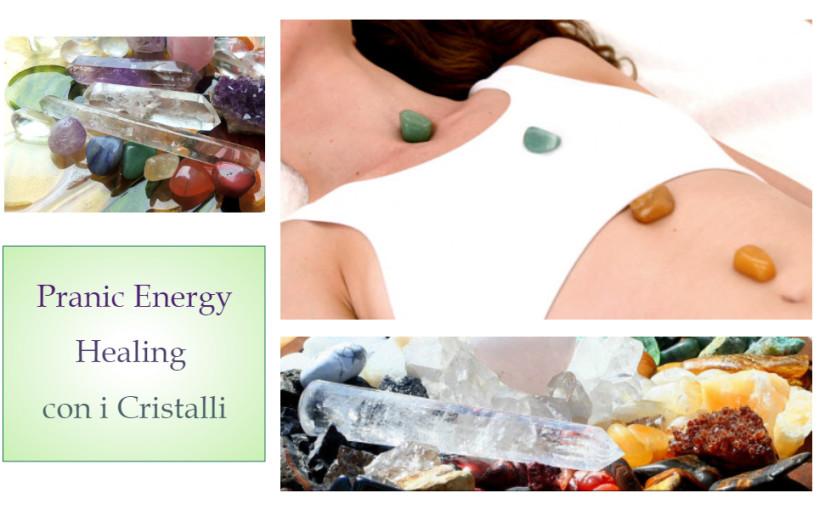 Pranic Energy Healing con i Cristalli